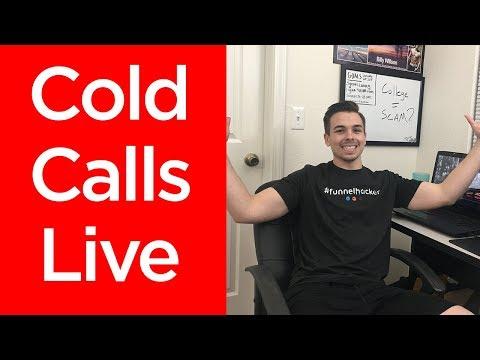 COLD CALLS LIVE   Social Media Marketing