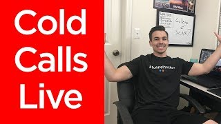COLD CALLS LIVE | Social Media Marketing