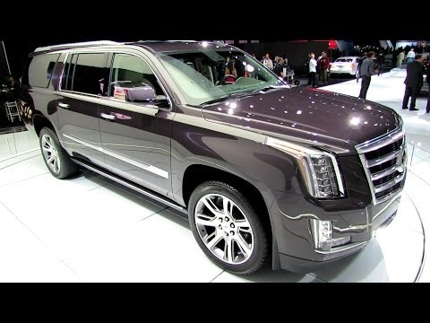 2015 Cadillac Escalade - Exterior and Interior Walkaround - Debut at LA ...
