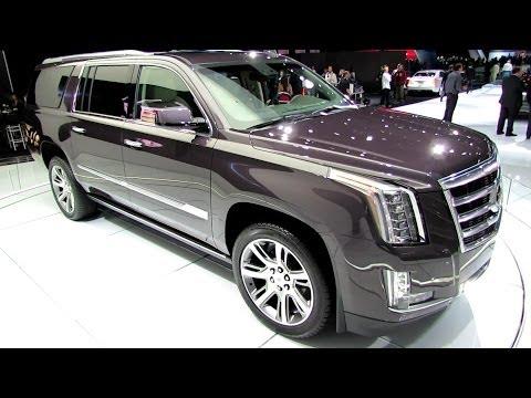 2015 Cadillac Escalade - Exterior and Interior Walkaround - Debut at LA ...