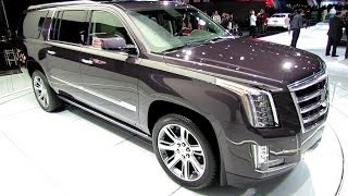 2015 Cadillac Escalade - Exterior and Interior Walkaround - Debut at 2013 LA Auto Show