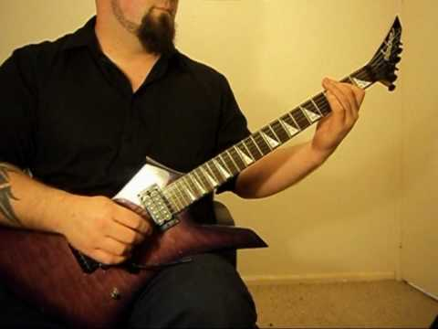Sylosis ~~~ Oath of Silence ~~~ Guitar Cover.