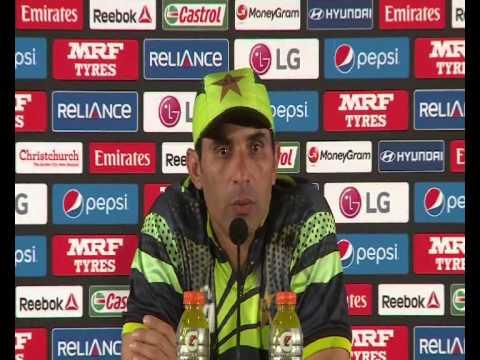 Misbah ul Haq Post Match Press Conference VS West Indies
