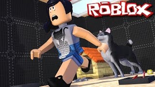 Roblox with Facecam-I will become dog poop (Escape the Pet shop Obby)