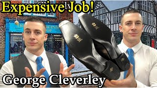Our Most Expensive Repair! | George Cleverley JR Leather | Lulu Toe Plates | Fiddle Back Waist