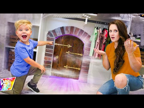 We Found A SECRET DOOR In Our HOUSE!