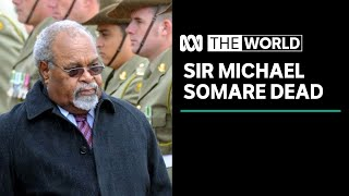 Sir Michael Somare, first prime minister of Papua New Guinea, dies | The World