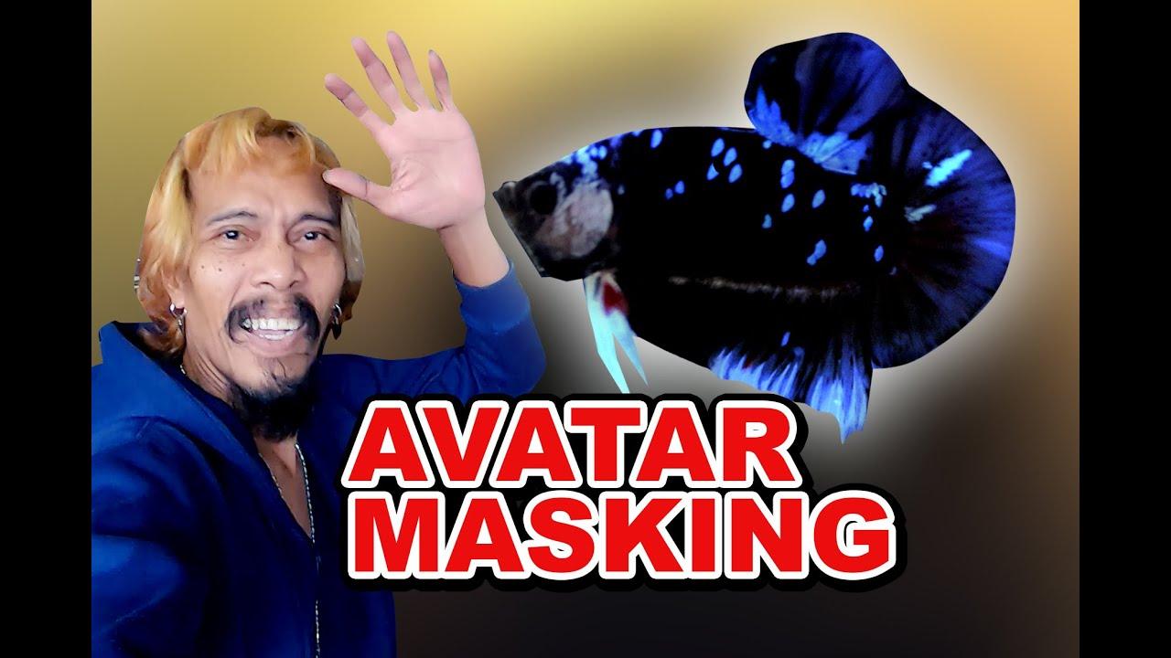 Ikan Cupang Avatar Masking Youtube