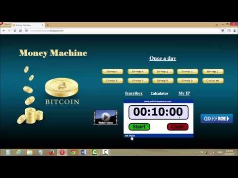 Money Machine | earn 1000 satoshi every minute