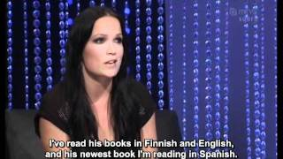 Tarja Turunen - interview on Korkojen Kera Show - November 2011