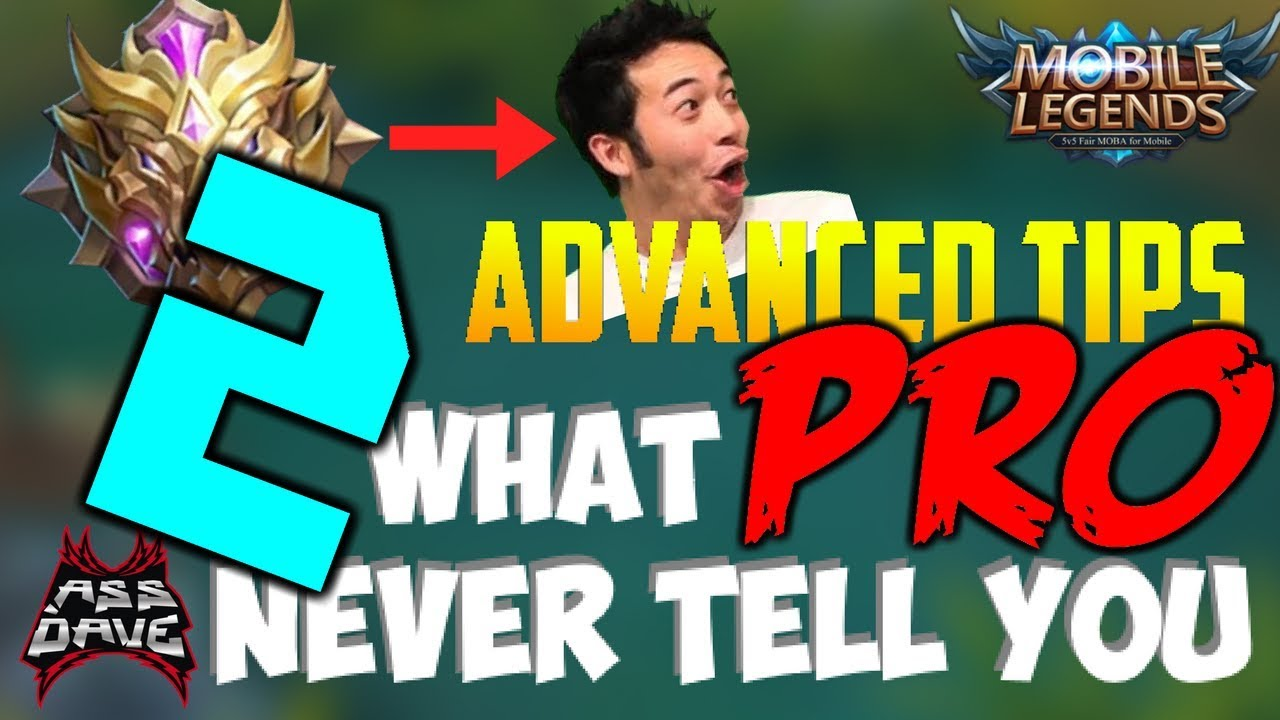 MUST WATCH! BE INSANELY GOOD IN 12 MINUTES! MOBILE LEGENDS ADVANCED GUIDE TIPS & TRICKS