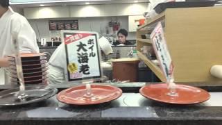 Япония,Tokio, суши бар