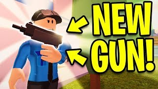 Jailbreak NEW UZI GUN!! NEW UPDATE PREVIEW! | Roblox Jailbreak New Update