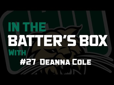 Ohio Softball 2016: In The Batter's Box - Deanna Cole