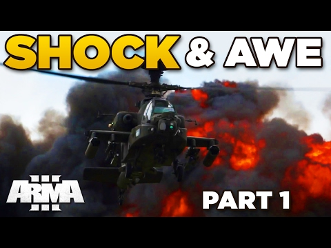 SHOCK and AWE | Modded [Part 1] – ARMA 3 ZEUS