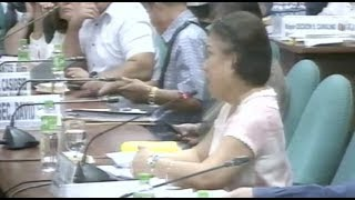 Villar loses cool at Senate hearing: 'If I were the President, I will resign'