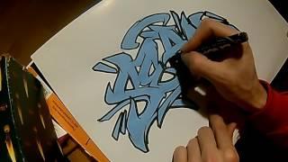 just sketching graffiti