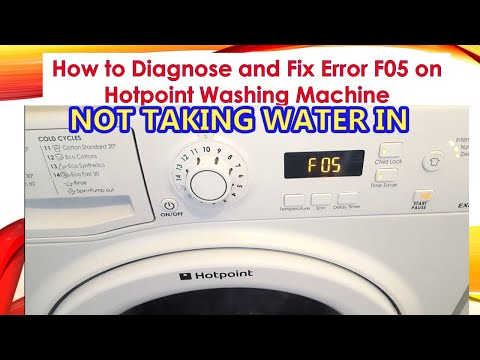 How to diagnose and fix washing machine with error F05