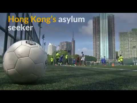 Hong Kong's refugees find comfort through love of soccer