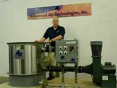 Air Scrubber Ethylene Oxide - EtO -DR50 - Advanced Air Technologies, Inc