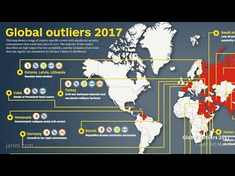Geopolitical order set to be tested in 2017