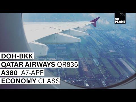 QATAR AIRWAYS | Doha - Bangkok | A380-800 | Trip Report