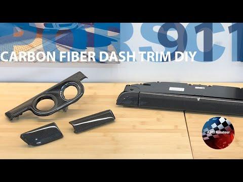 Carbon Fiber Dash Trim Install DIY – Porsche 911 991