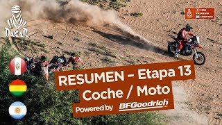 Resumen - CocheMoto - Etapa 13 San Juan  Crdoba - Dakar 2018