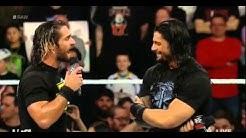 Roman Reigns interrupts Seth Rollins: Raw, March 2, 2015