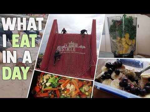 Vegan Full Day Of Eating For Obstacle Course Race | Healthy & Easy