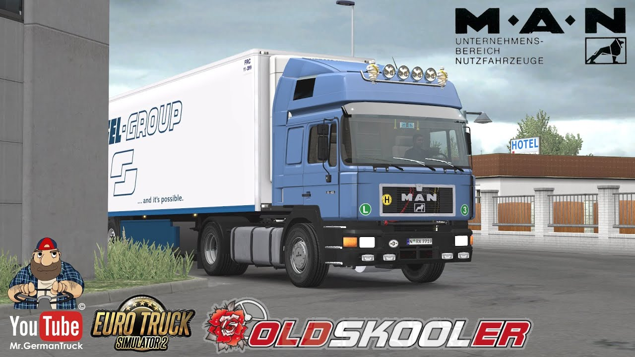 [ETS2 v1.36] MAN F90 v1.0 + ALL DLC´s ready *Best Reworked Version*