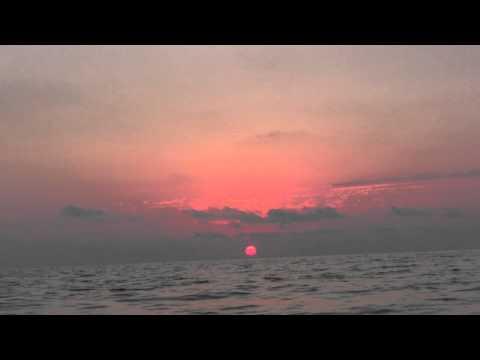 Сентябрьский закат бухта Камышовая