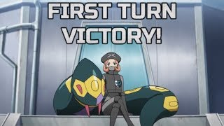 When you win your games on your first turn - PTCGO