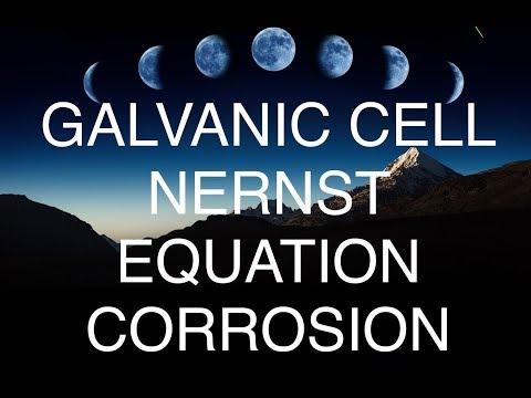 METALLURGICAL THERMODYNAMICS Lec-1(Galvanic cell,Nernst equation,Corrosion)