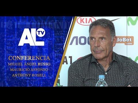 Conferencia: técnico y jugadores| ALIANZA LIMA TV