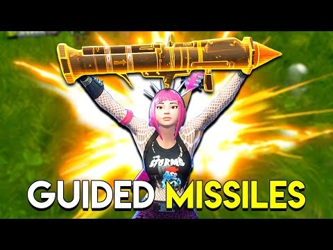 GUIDED MISSILES! - Fortnite: Battle Royale