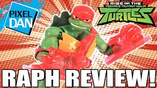 Raphael Rise of the TMNT Ninja Turtles Action Figure Video Review