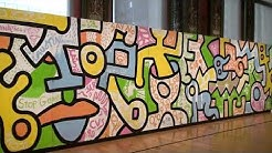 Keith Haring, Chicago Mural, A Quick Look