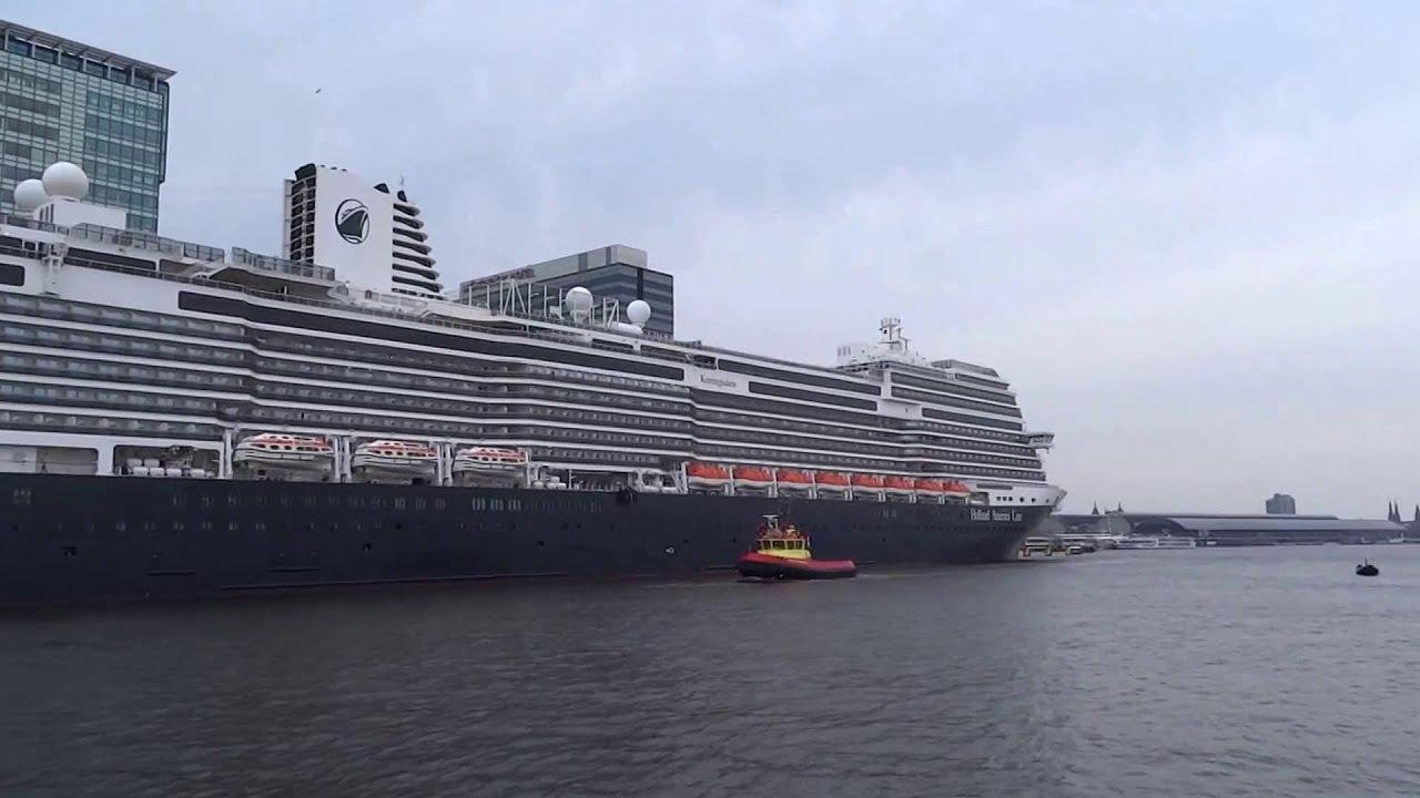 Ms Koningsdam Cruise Ship Amsterdam Cruise Terminal Holland - Amsterdam cruise ship