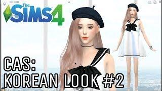 The Sims 4] Create A Korean Sim: Korean Look #2 (+ FULL CC