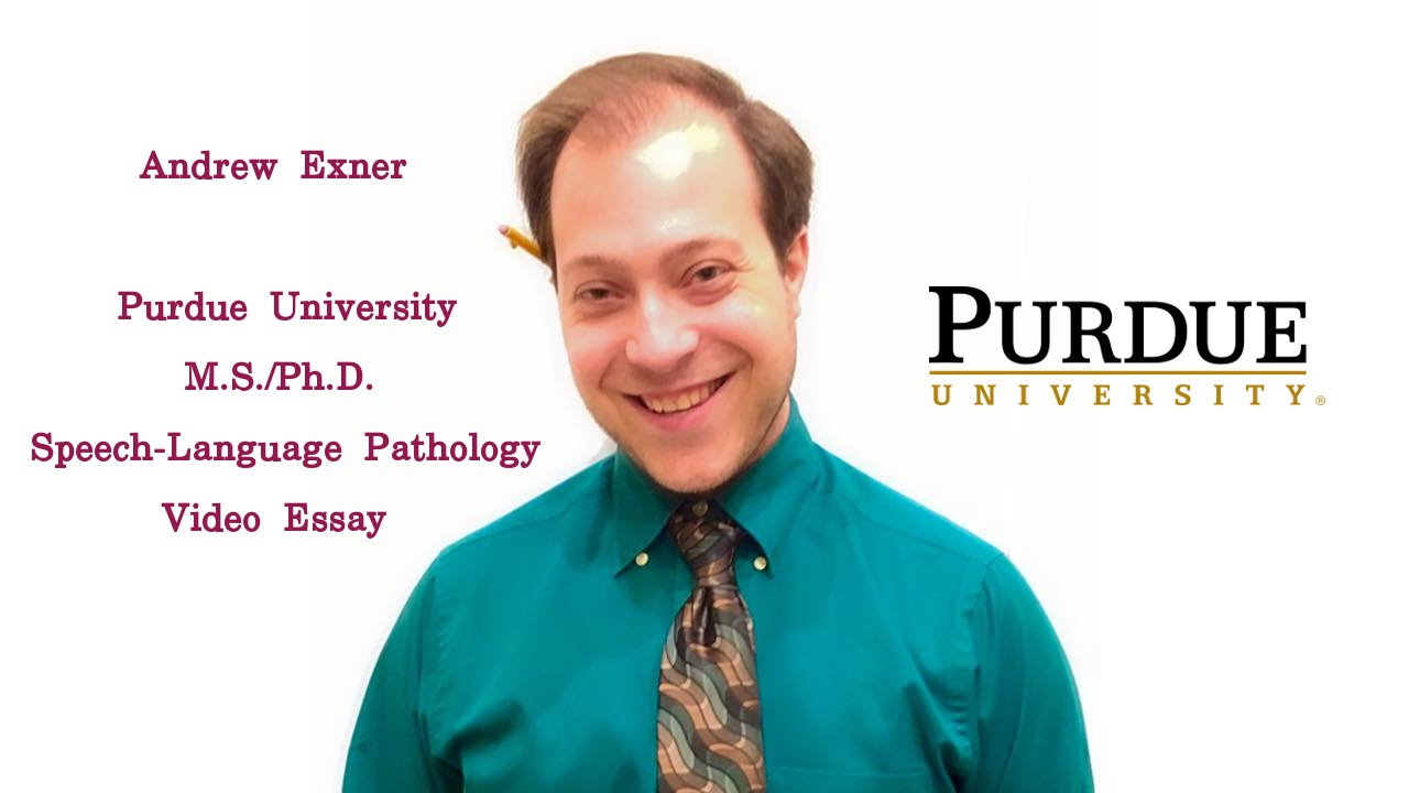 andrew exner purdue university graduate video essay