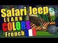 French Color Safari Jeep Parade