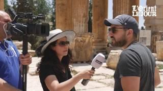 Ibrahim Maalouf en repérage pour le Festival international de Baalbeck - OLJ