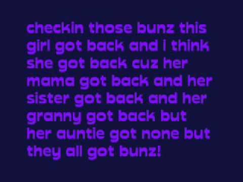 bunz lyrics