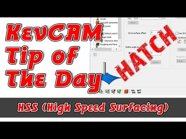Tip of the Day - HSS - Hatch