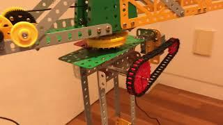 과학상자6호 타워크레인 모터 회전되도록 개조