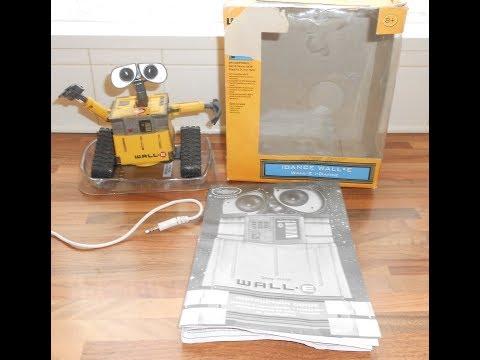 Disney Thinkway 6 Inch WALL-E iDance MP3 Interactive Rare Pixar Toys Fully Working