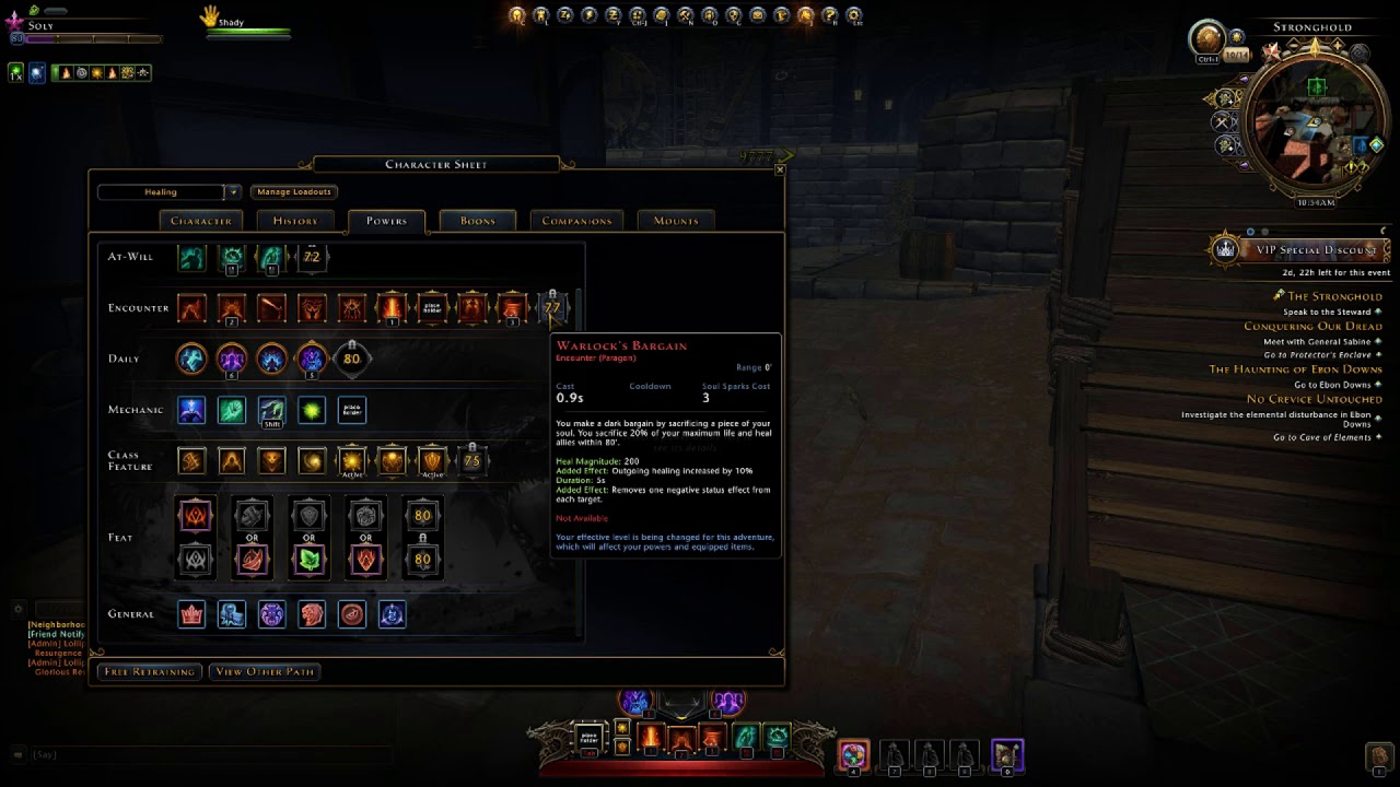 Neverwinter Mod 16 Healing Soulweaver Warlock Explained (The new templock  from preview)