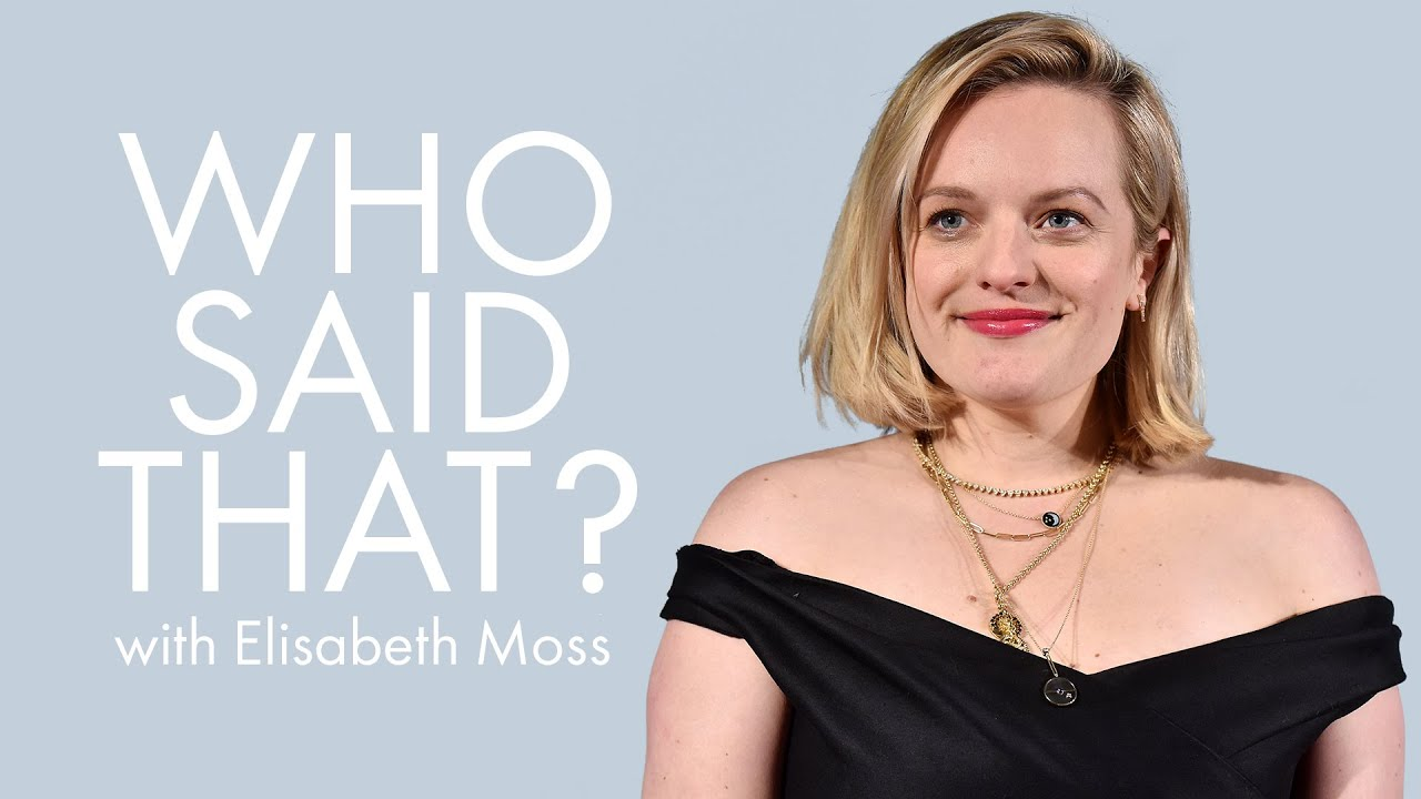 Elisabeth Moss Guesses Lines From Melissa McCarthy, Whoopi Goldberg & More   Who Said That