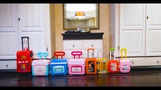 Canção Infantil - A lot of suitcases Children Song in Portuguese | Five Kids
